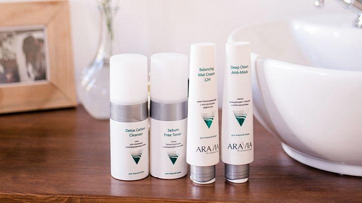 Домашний уход ARAVIA Professional за жирной кожей