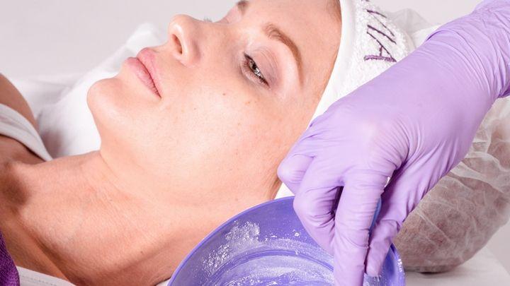 Процедура с использованием альгинатной маски ARAVIA Professional